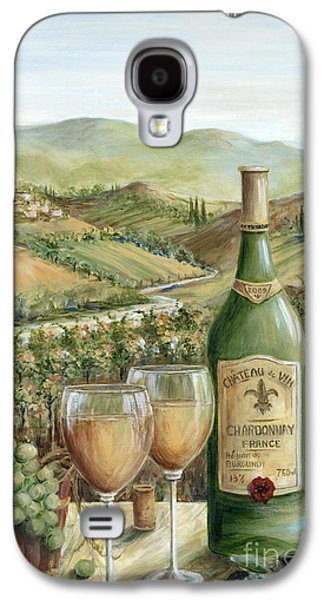Grape Vineyard Galaxy S4 Cases - White Wine Lovers Galaxy S4 Case by Marilyn Dunlap