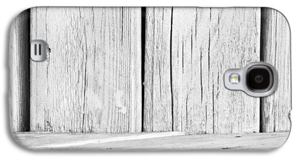 Flooring Galaxy S4 Cases - White wood Galaxy S4 Case by Tom Gowanlock