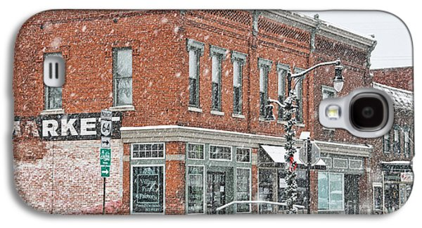 Whitehouse Ohio In Snow 7032 Galaxy S4 Case by Jack Schultz