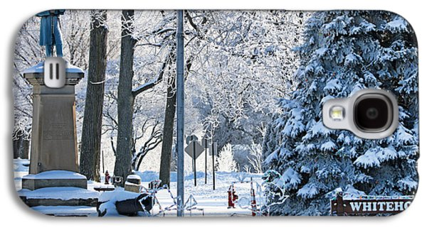 Whitehouse Village Park  7360 Galaxy S4 Case by Jack Schultz
