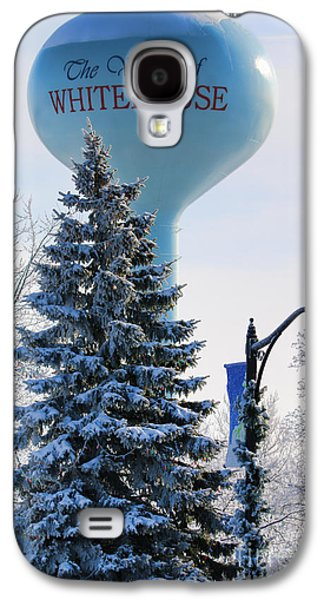 Whitehouse Water Tower  7361 Galaxy S4 Case by Jack Schultz