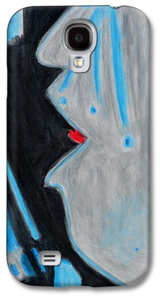 Tear Drawings Galaxy S4 Cases - Who Helps Those Who Cry In Silence Galaxy S4 Case by Donna Blackhall