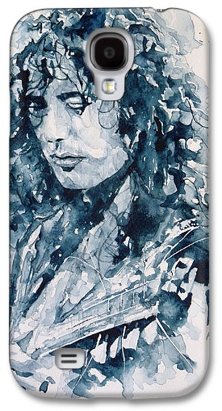 Lips Galaxy S4 Cases - Whole Lotta Love Jimmy Page Galaxy S4 Case by Paul Lovering