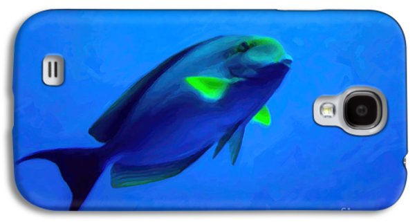 Plankton Galaxy S4 Cases - Why So Blue? Galaxy S4 Case by Jon Burch Photography