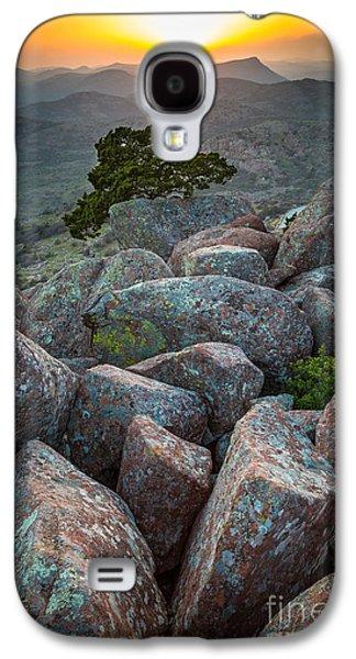 Wildlife Refuge. Galaxy S4 Cases - Wichita Mountains Galaxy S4 Case by Inge Johnsson
