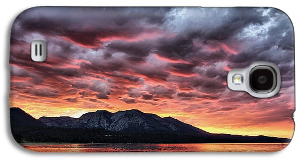 Grey Clouds Photographs Galaxy S4 Cases - Wicked 2 Galaxy S4 Case by Cheryl Young