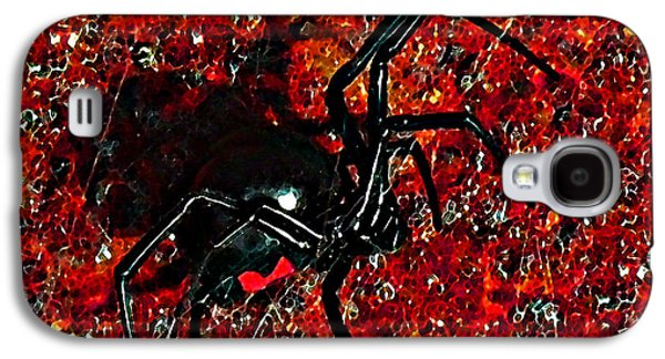Creepy Digital Galaxy S4 Cases - Wicked Widow - Rouge Galaxy S4 Case by Al Powell Photography USA