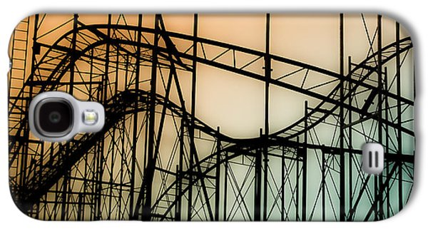 Rollercoaster Photographs Galaxy S4 Cases - Wild at Night Galaxy S4 Case by Colleen Kammerer