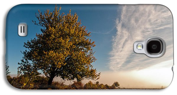 Autumn Landscape Galaxy S4 Cases - Wild Cherry Galaxy S4 Case by Davorin Mance