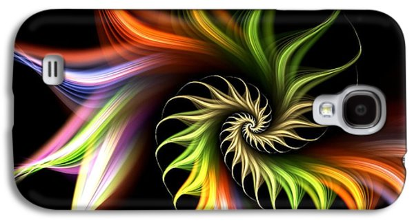 Decoration Galaxy S4 Cases - Wild Flower Galaxy S4 Case by Anastasiya Malakhova