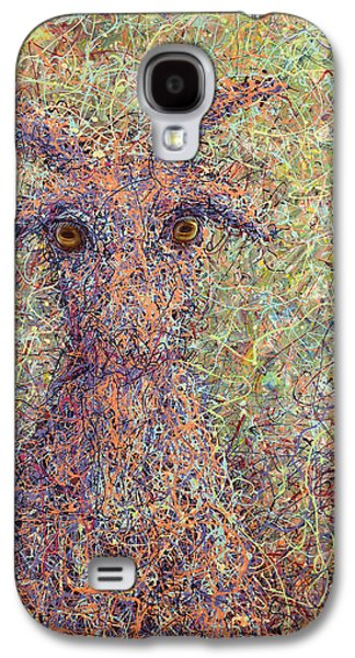 Expressionism Galaxy S4 Cases - Wild Goat Galaxy S4 Case by James W Johnson