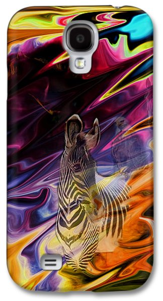 Abstract Digital Photographs Galaxy S4 Cases - Wild Places Galaxy S4 Case by Aidan Moran