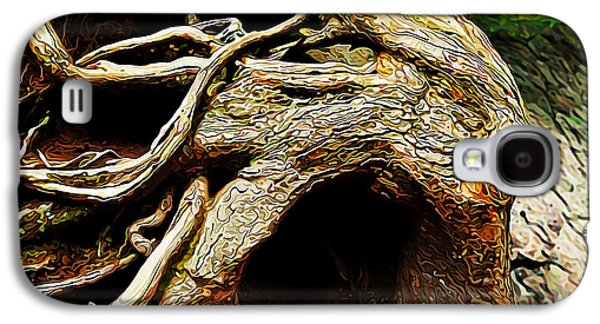 Tree Roots Galaxy S4 Cases - Wild Tree Spirit Galaxy S4 Case by Bill Caldwell -        ABeautifulSky Photography