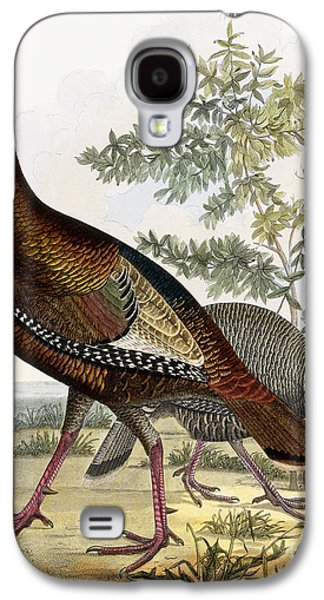 Wild Turkey Galaxy S4 Case by Titian Ramsey Peale