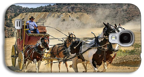 Transportation Photographs Galaxy S4 Cases - Wild West Ride Galaxy S4 Case by Donna Kennedy