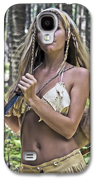 Warrior Goddess Photographs Galaxy S4 Cases - Wild Woman 3 Galaxy S4 Case by Don Ewing
