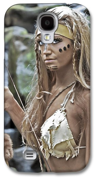 Warrior Goddess Photographs Galaxy S4 Cases - Wild Woman 1 Galaxy S4 Case by Don Ewing