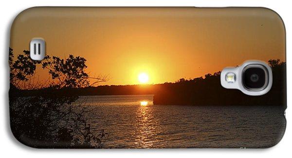 Fort Pierce Galaxy S4 Cases - Wildcat Cove Sunset Galaxy S4 Case by Megan Dirsa-DuBois