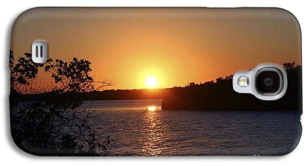 Fort Pierce Galaxy S4 Cases - Wildcat Cove Sunset2 Galaxy S4 Case by Megan Dirsa-DuBois