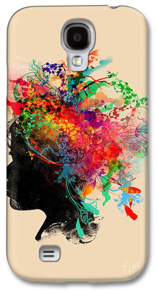Earth Galaxy S4 Cases - Wildchild Galaxy S4 Case by Budi Satria Kwan