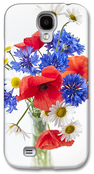 Flower Design Photographs Galaxy S4 Cases - Wildflower bouquet Galaxy S4 Case by Elena Elisseeva