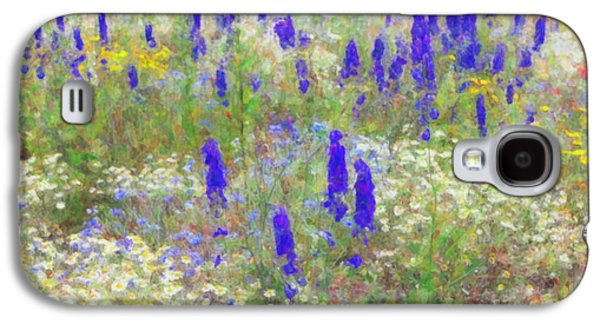 Botany Digital Galaxy S4 Cases - Wildflower Watercolour Galaxy S4 Case by Tim Gainey