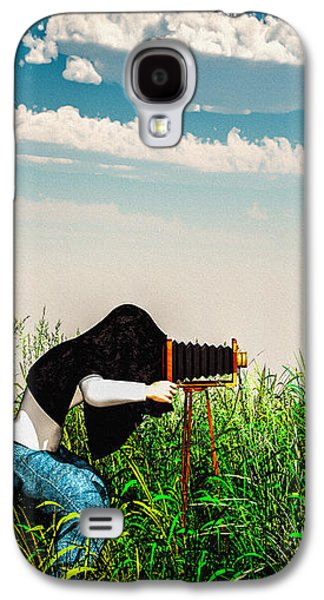 Extinct And Mythical Digital Art Galaxy S4 Cases - Wildlife Photographer  Galaxy S4 Case by Bob Orsillo