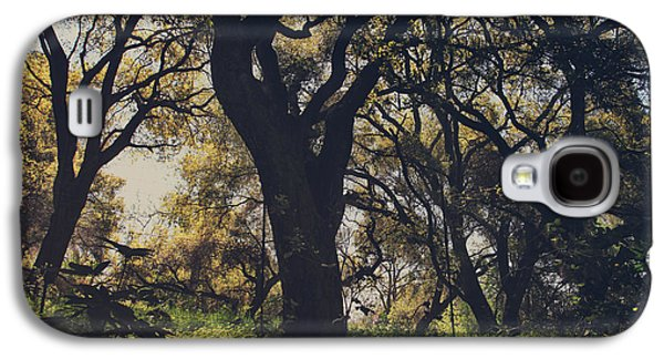 Trees Photographs Galaxy S4 Cases - Wildly and Desperately My Arms Reached Out to You Galaxy S4 Case by Laurie Search