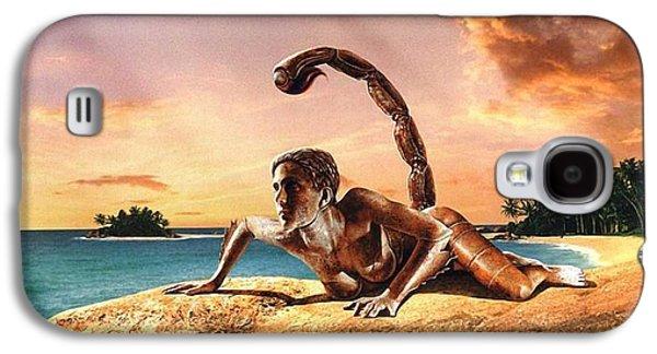 Beach Landscape Reliefs Galaxy S4 Cases - Will Galaxy S4 Case by Raphael  Sanzio