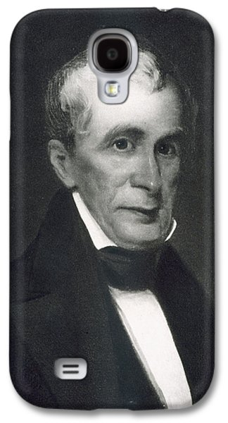 Politics Paintings Galaxy S4 Cases - William Henry Harrison Galaxy S4 Case by Eliphalet Frazer Andrews