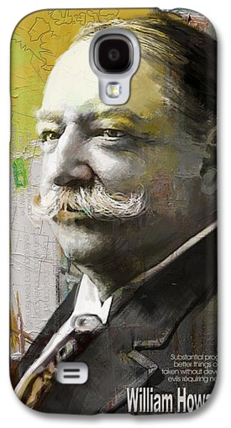 James Buchanan Galaxy S4 Cases - William Howard Taft Galaxy S4 Case by Corporate Art Task Force
