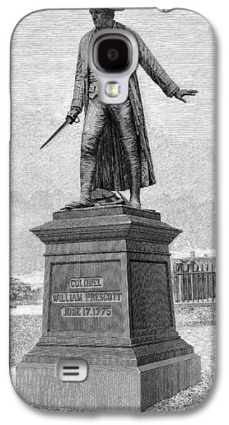 Statue Portrait Galaxy S4 Cases - William Prescott (1726-1795) Galaxy S4 Case by Granger