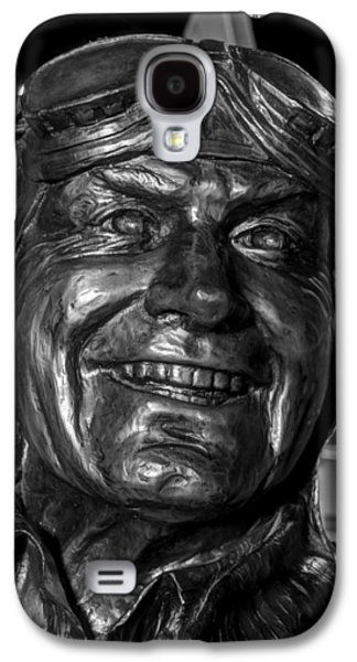 Statue Portrait Galaxy S4 Cases - WILLIAM S WATSON   M I A    K I A     v2 Galaxy S4 Case by John Straton