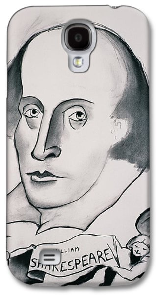 Drawing Galaxy S4 Cases - William Shakespeare 1564-1616 1994 Charcoal On Paper Galaxy S4 Case by Jacob Sutton