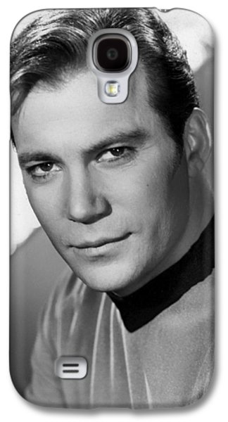 Kirk Galaxy S4 Cases - William Shatner Galaxy S4 Case by Mountain Dreams