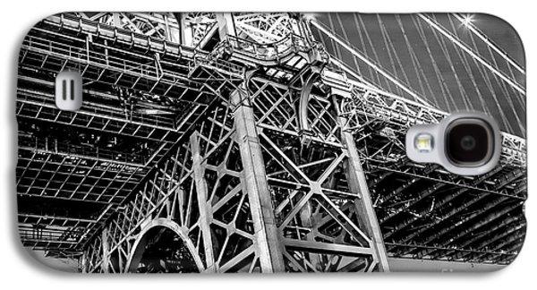 Famous Bridge Galaxy S4 Cases - Williamsburg Bridge 5 Galaxy S4 Case by Az Jackson