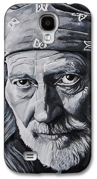 Crying Paintings Galaxy S4 Cases - Willie  Galaxy S4 Case by Brian Broadway