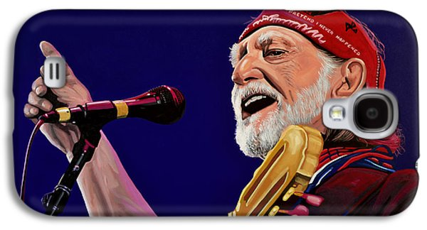Willie Nelson Galaxy S4 Case by Paul Meijering