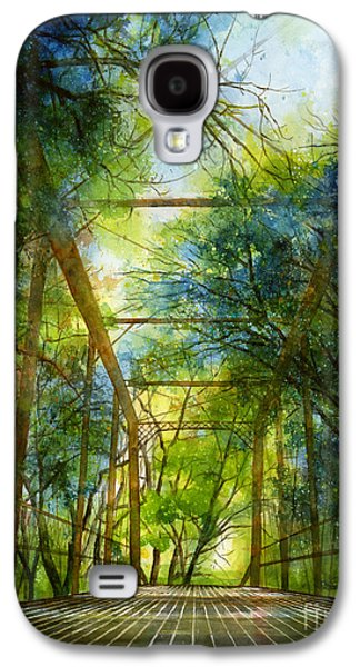 Wilderness Paintings Galaxy S4 Cases - Willow Springs Road Bridge Galaxy S4 Case by Hailey E Herrera