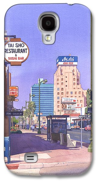 Mail Box Galaxy S4 Cases - Wilshire Blvd at Mansfield Galaxy S4 Case by Mary Helmreich