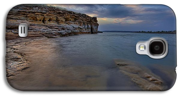 Reservoir Galaxy S4 Cases - Wilson Red Rock Sunset Galaxy S4 Case by Thomas Zimmerman