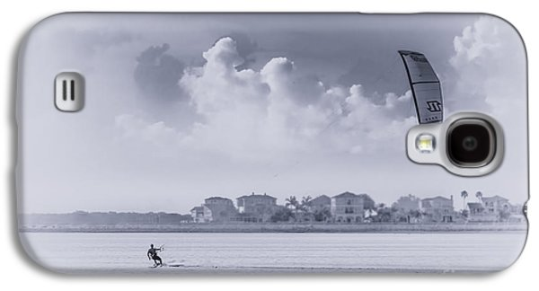 Kite Surfing Galaxy S4 Cases - Wind Beneath My Wing Galaxy S4 Case by Marvin Spates
