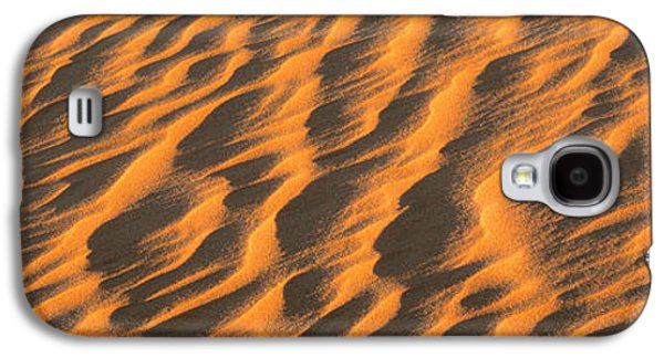 Sand Patterns Galaxy S4 Cases - Wind Blown Sand Tx Usa Galaxy S4 Case by Panoramic Images