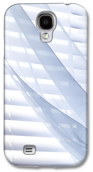 Wind Photographs Galaxy S4 Cases - Wind Blue Window Galaxy S4 Case by Bob Orsillo