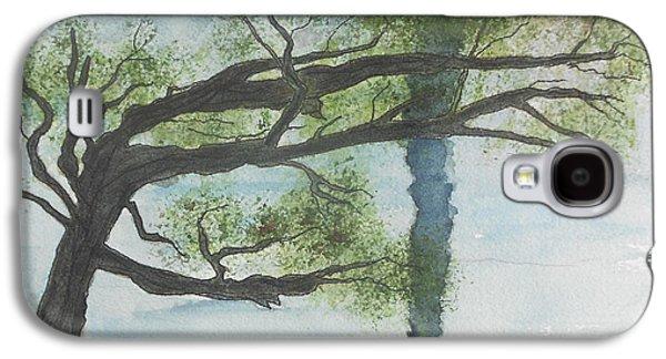 Windblown Paintings Galaxy S4 Cases - Wind Galaxy S4 Case by David  McCauley