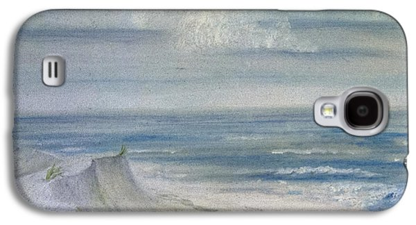 Windblown Paintings Galaxy S4 Cases - Windblown Galaxy S4 Case by Judy Hall-Folde