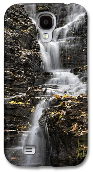 Ithaca Galaxy S4 Cases - Winding Waterfall Galaxy S4 Case by Christina Rollo