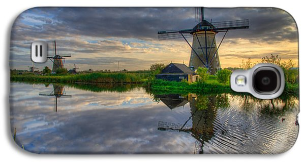 Windmill Galaxy S4 Cases - Windmills Galaxy S4 Case by Chad Dutson