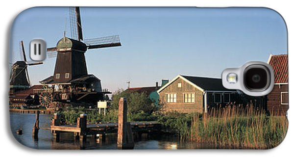 Reconstruction Galaxy S4 Cases - Windmills Zaanstreek Netherlands Galaxy S4 Case by Panoramic Images