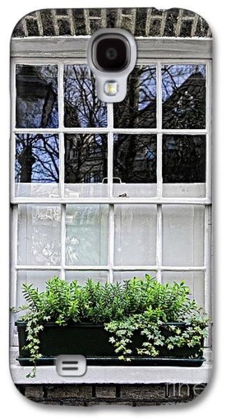 Window Galaxy S4 Cases - Window in London Galaxy S4 Case by Elena Elisseeva